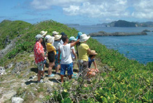 To preserve the nature of Ogasawara…